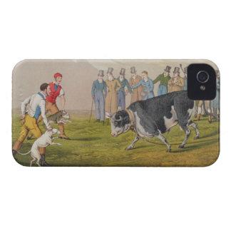 'Bull Baiting', pub.by Thomas McLean, 1820, (print iPhone 4 Cover