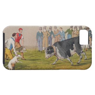 'Bull Baiting', pub.by Thomas McLean, 1820, (print iPhone SE/5/5s Case