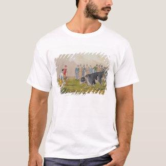 'Bull Baiting', pub.by Thomas McLean, 1820, (print T-Shirt