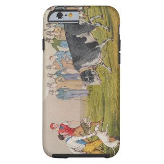 'Bull Baiting', pub.by Thomas McLean, 1820, ( Tough iPhone 6 Case