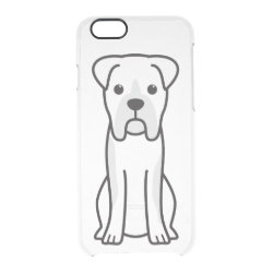 Uncommon iPhone 6 Clearly™ Deflector Case with Boxer Phone Cases design