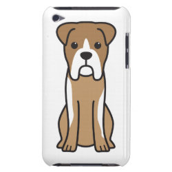Case-Mate iPod Touch Barely There Case with Boxer Phone Cases design