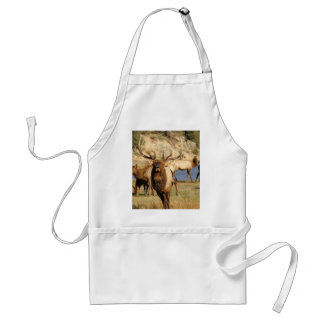 bull bugle adult apron