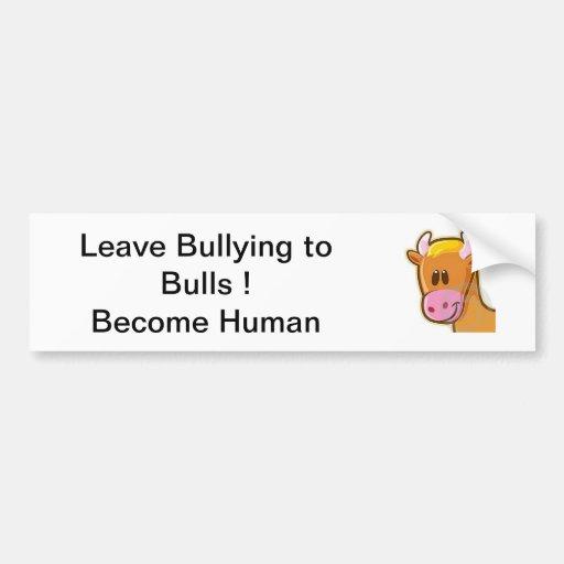 Bull Bumper Sticker