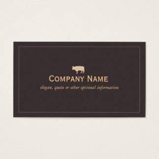 Bull Business Card