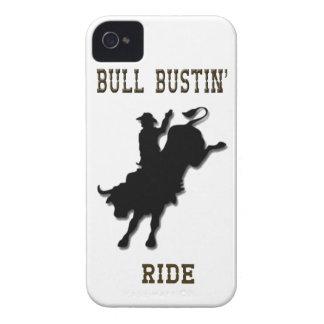 Bull Bustin' Ride IPhone 4 Case