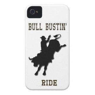 """Bull Bustin' Ride"" Western Blackberry Case"