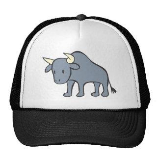 Bull Cartoon Trucker Hat