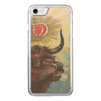 Bull Carved iPhone 7 Case