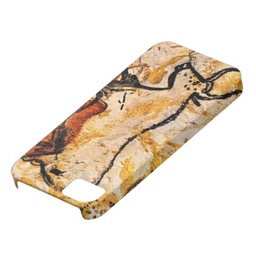 Bull Cave Painting iPhone 5/5S cover iPhone 5/5S Cases