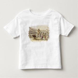 Bull Charging a Picador, 1865 (colour litho) Tee Shirt