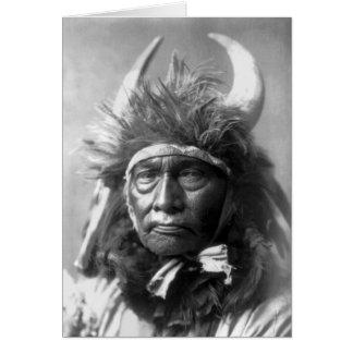 Bull Chief -- Apsaroke: 1908 Card