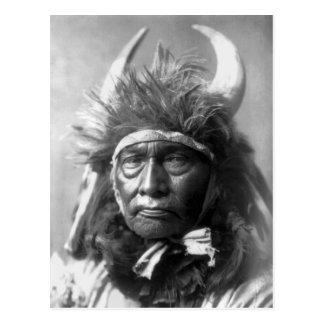 Bull Chief -- Apsaroke: 1908 Postcard
