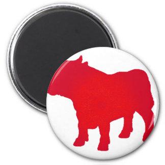 Bull considera rojo iman de nevera