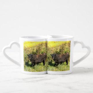 Bull Couples Coffee Mug