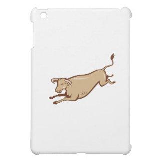 Bull Cow Jumping Cartoon iPad Mini Case