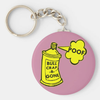 Bull Crap B Gone Spray Can Keychain