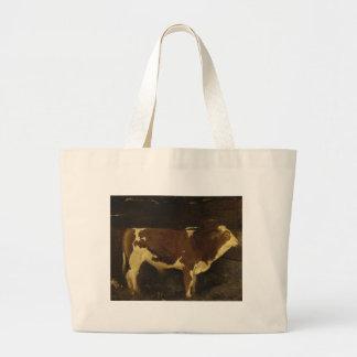 Bull de Ivan Shishkin Bolsa Tela Grande