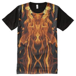 Bull de la camiseta impresa Sun_Fire Playera Con Estampado Integral