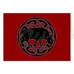Bull de la prosperidad - tarjeta de felicitación