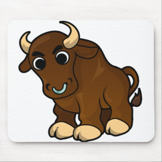 Bull Design Mouse Pad