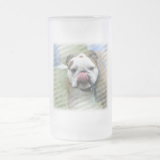 Bull Dog Designs Beer Mug