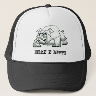 Bull dog ( mean n dirty) copy trucker hat
