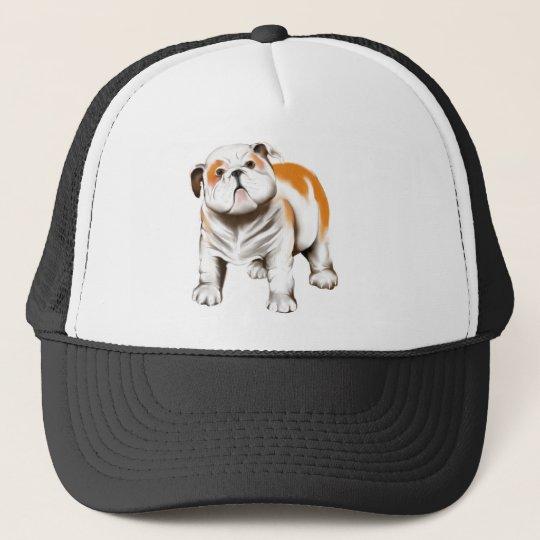 *Bull Dog Puppy Trucker Hat