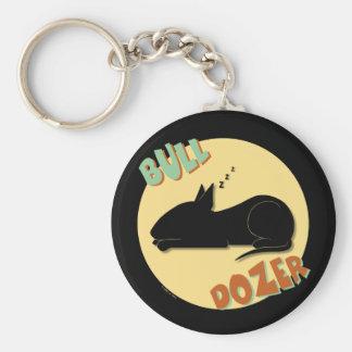 Bull Dozer Keychain