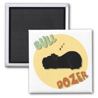 Bull Dozer Magnet