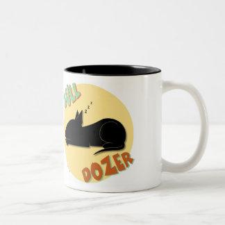 Bull Dozer Mug