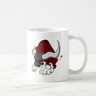 Bull Drawing Cartoon Character Coffee Mug