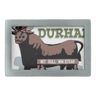 Bull Durham Rectangular Belt Buckle
