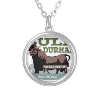 Bull Durham Silver Plated Necklace