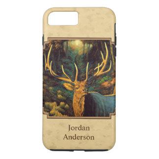 Bull Elk Autumn Yellow iPhone 8 Plus/7 Plus Case