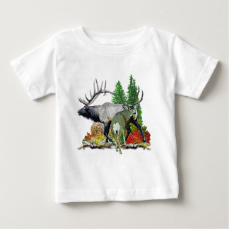 Bull elk  buck deer baby T-Shirt