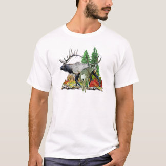 Bull elk  buck deer T-Shirt