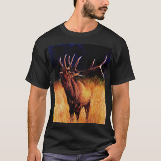 Bull Elk Call Of The Wild T-Shirt
