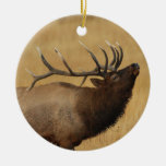 bull elk christmas ornaments