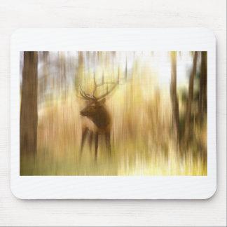 Bull Elk Forest Gazing.jpg Mousepad