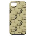 Bull Elk Hunters Wildlife Big Game Hunting Antlers iPhone 5 Covers