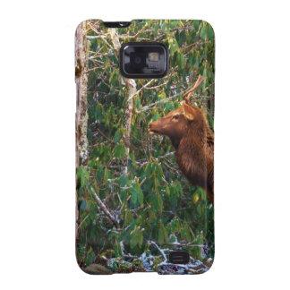 Bull Elk in Trees Galaxy SII Case