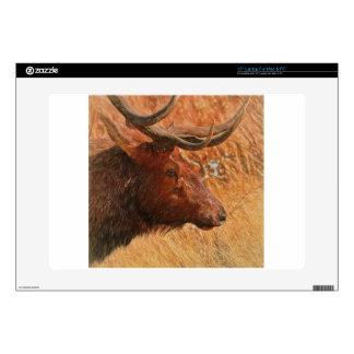 Bull Elk Laptop Decals