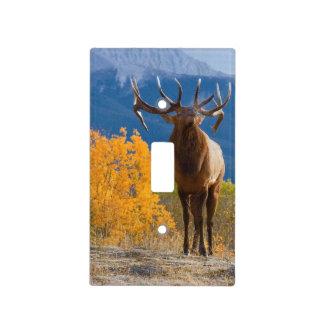 Bull Elk Light Switch Cover