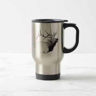 Bull Elk Mug Stainless Steel Travel Mug