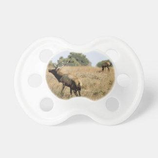 Bull Elk Baby Pacifiers