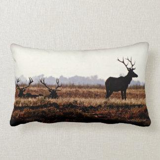 Bull Elk Pillow