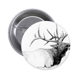 Bull Elk Pin