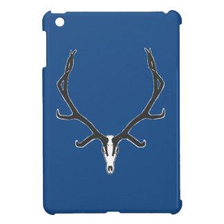 Bull elk skull European mount, bw iPad Mini Covers