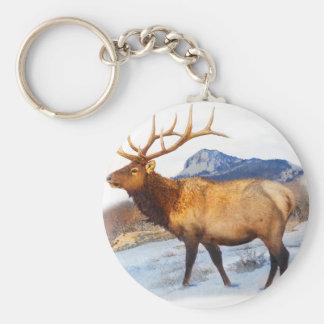 bull elk t idea.pdf keychain